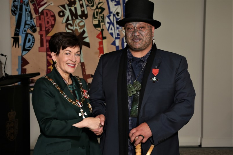Mr Pouroto Ngaropo, of Whakatane, MNZM for services to Māori and governance