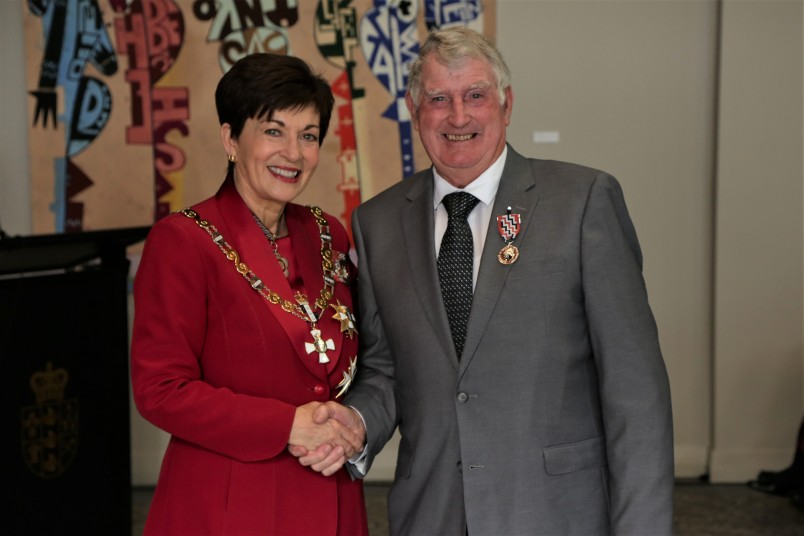 Derek Williams, of Auckland, QSM for services to the Welsh community and athletics