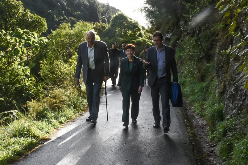 Image of Dame Patsy and Sir David at Zealandia