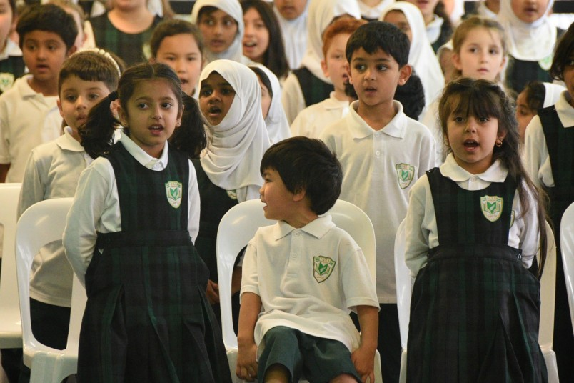 Iqra Elementary students year one and two students