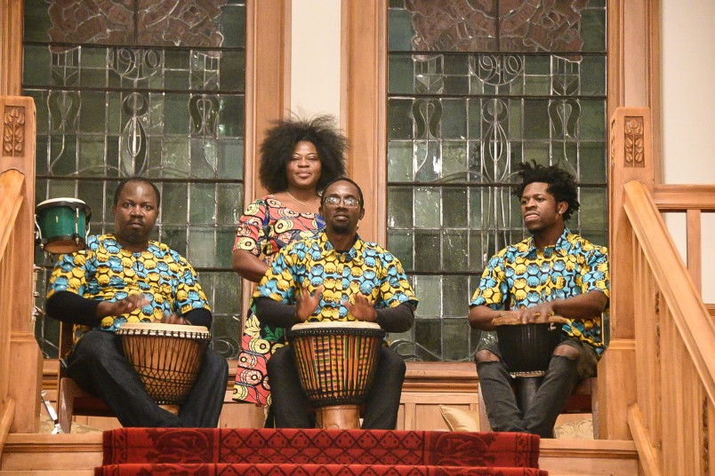 Image of African drummers group