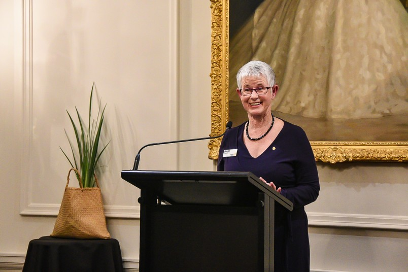 Image of Marion Cowden, President of the Rotary Club of Wellington