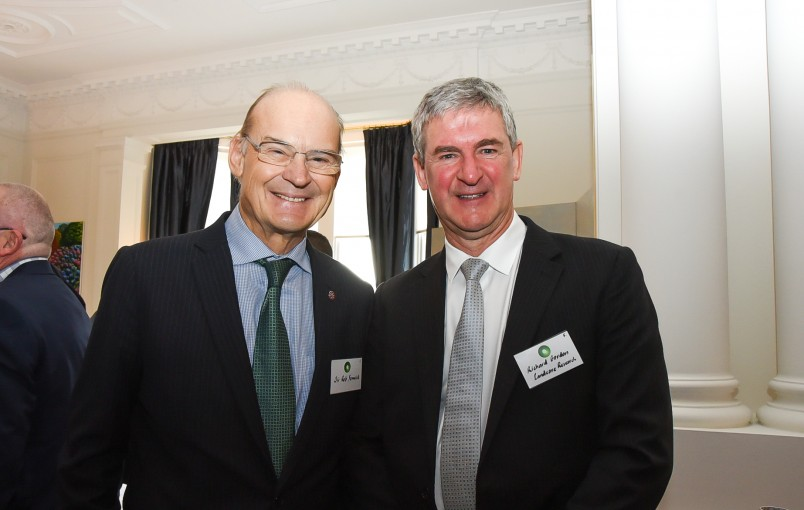 Sir Rob Fenwich and Richard Gordon of Landcare