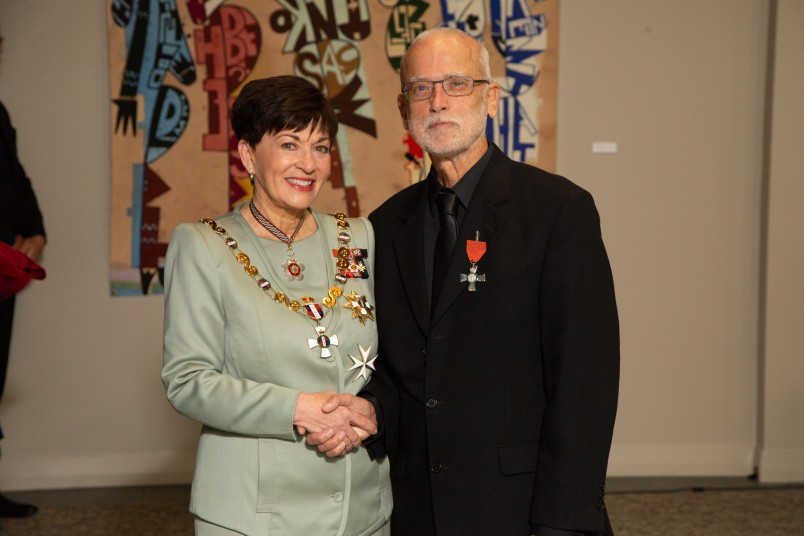 Image of Dr Ralph Marrett, of Auckland, MNZM