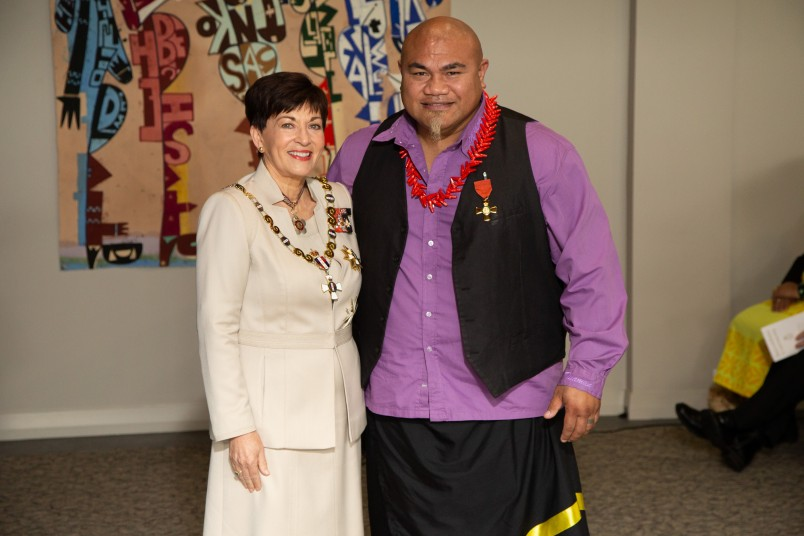 Mr Mafaufau Tua , of Auckland, ONZM for services to youth, boxing and the community