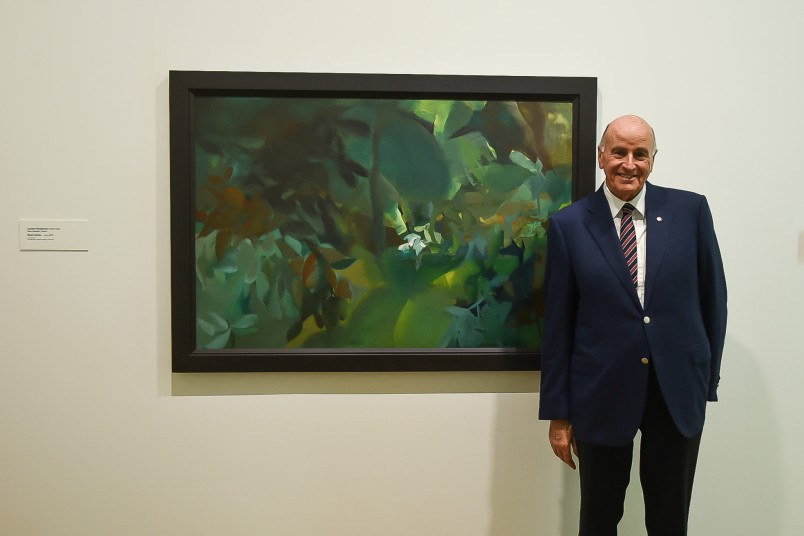 "Image of Sir David's favourite was from the exhibition ""Louise Henderson:From Life"""