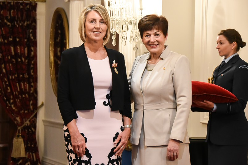 Image of Dame Patsy and Florence Nightingale Medal recipient, Felicity Gapes