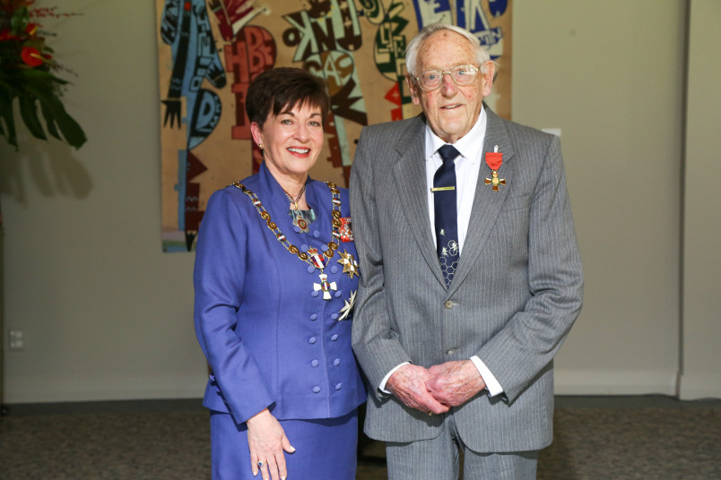 Image of Dr George Mason, of New Plymouth, ONZM, for services to conservation, philanthropy and the community