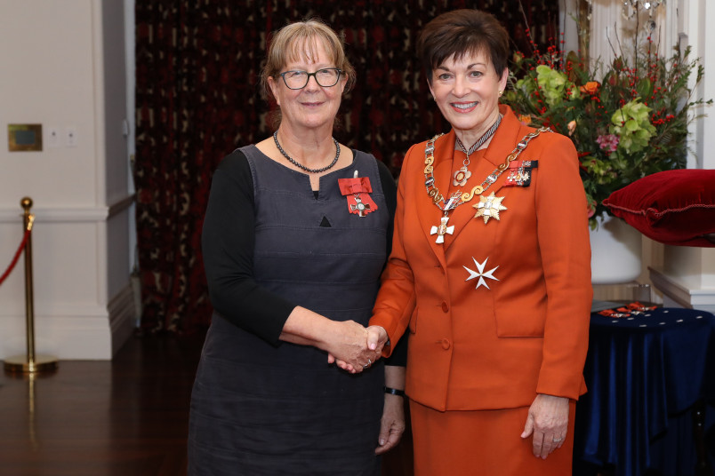 Mrs Judith Geare, of Wellington, MNZM for services to language education and New Zealand-Germany relations