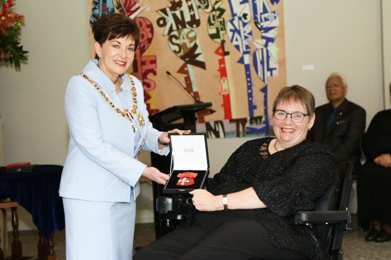 Ms Susan Sherrard, of Auckland, MNZM for services to people with disabilities