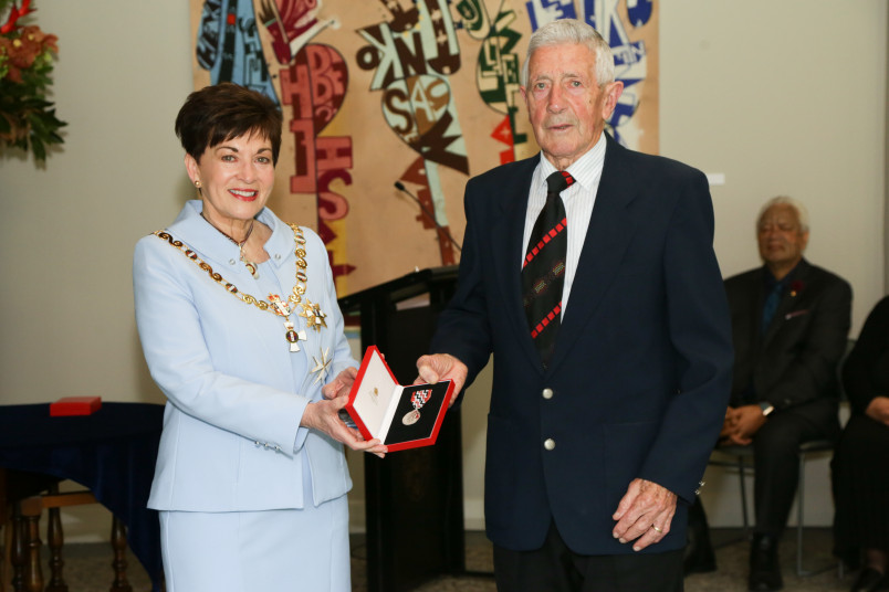 Mr Ian Robinson, of Waihi Beach, QSM for services to surf lifesaving and the community