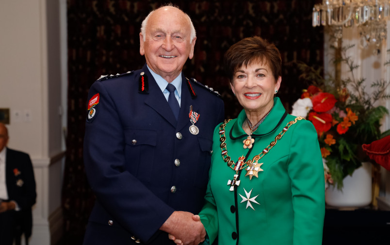 Mr Ian Walker, of Kaikoura, QSM for services to Fire and Emergency New Zealand