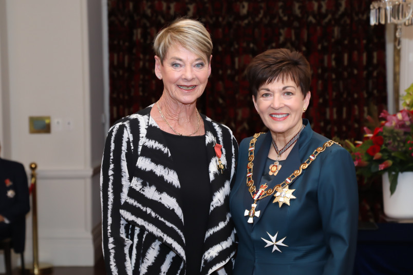 Mrs Joan Harnett-Kindley, of Wanaka, ONZM for services to netball and the real estate industry
