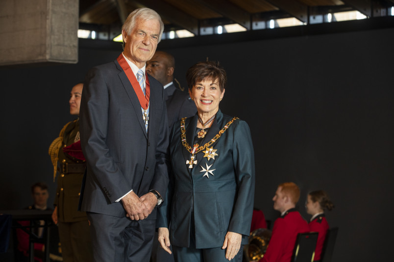 Image of Barry Maister, of Christchurch, CNZM, for services to sport and the community