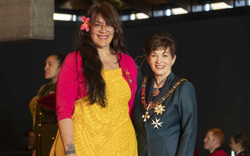 Image of Tagaloa Sā Donna Tusiata Avia, of Christchurch, MNZM, for services to poetry and the arts