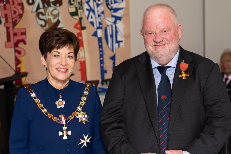 Image of Dr Tim Malloy, of Warkworth, ONZM, for services to health