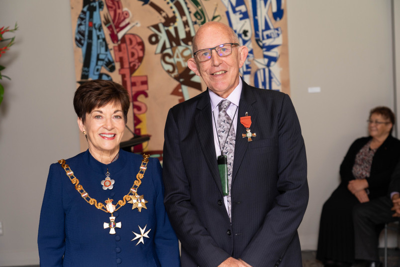Image of Mr Mike Sutton, of Hamilton, MNZM, for services to education
