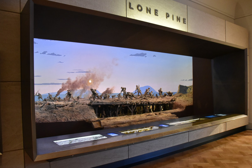 Image of a diorama of Lone Pine