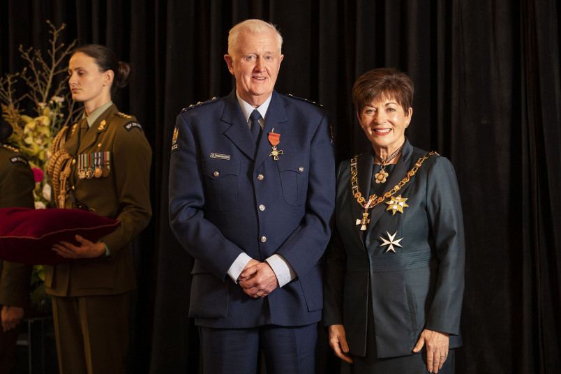 Image of Inspector Kieren Kortegast, of Christchurch, MNZM, for services to the New Zealand Police and the community