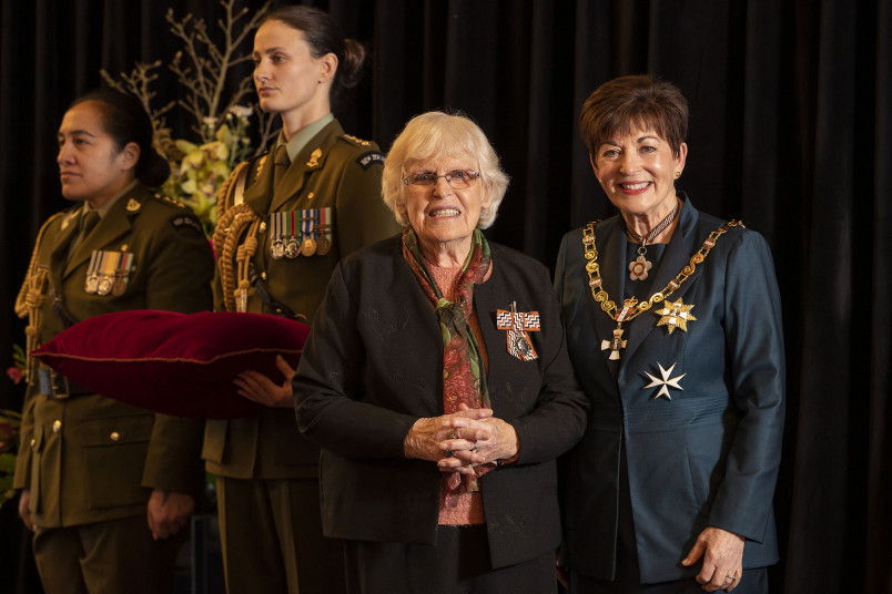 Image of Mrs Kitty Fenton, of Christchurch, QSM, for services to the community