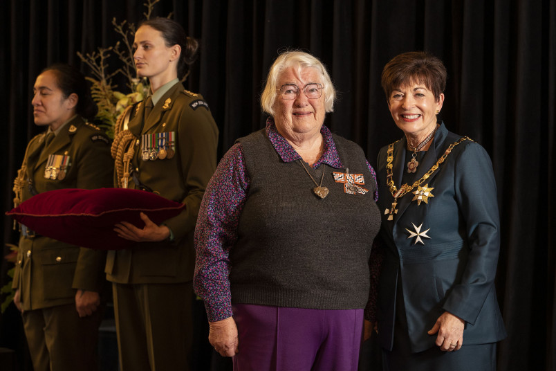 Image of Mrs Elizabeth Norton, of Temuka, QSM, for services to the community