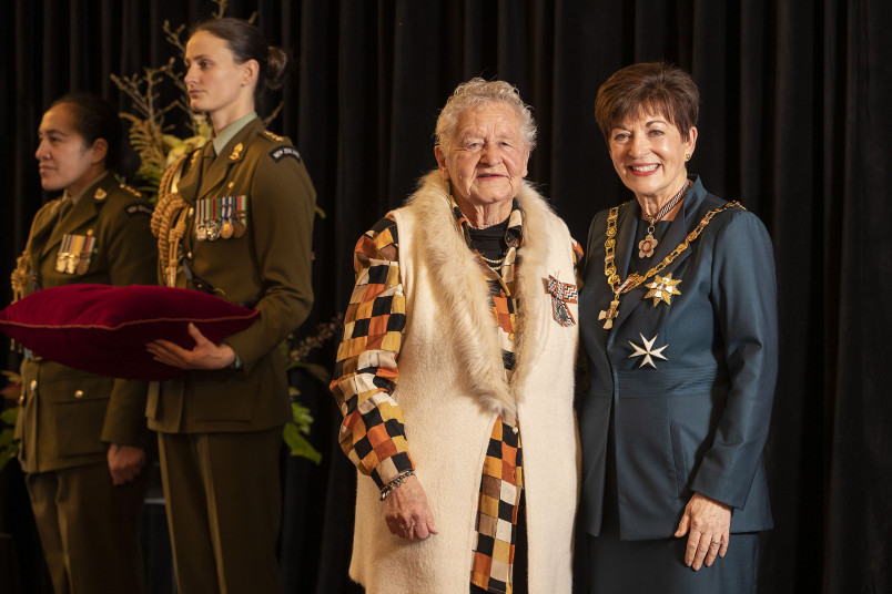Image of Mrs Billie Tohill, of Alexandra, QSM, for services to the community