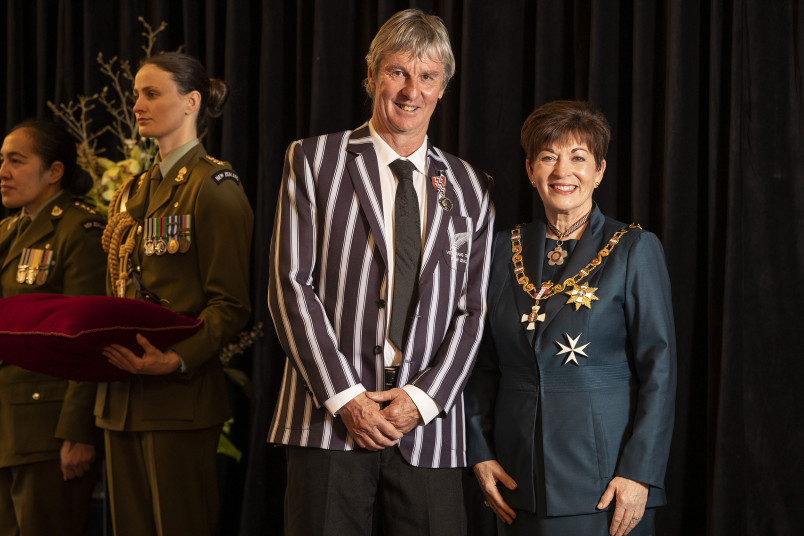 Image of Mr Malcolm Walker, of Winton, QSM, for services to sport and education