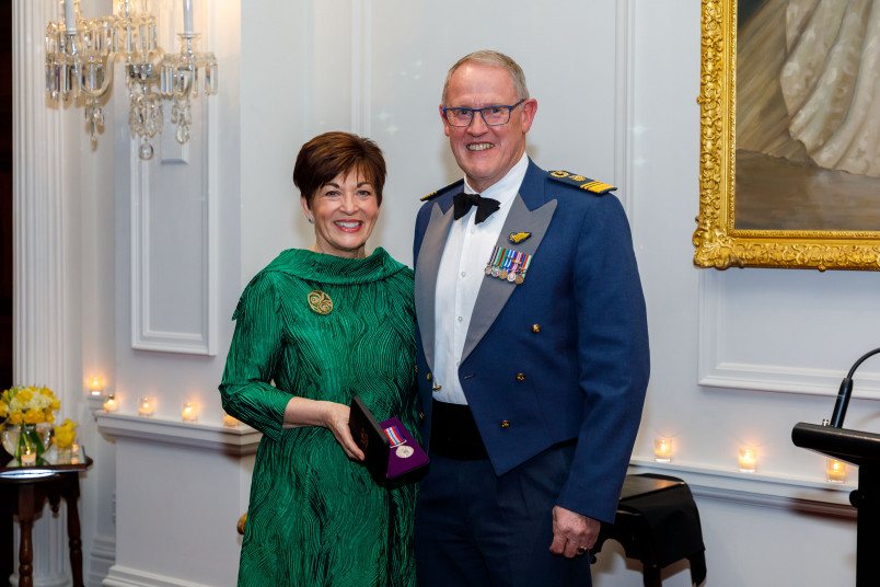 Dame Patsy Reddy and AM Kevin Short
