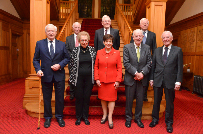 Dame Patsy with other Distinguished Fellows of the Institute of Directors