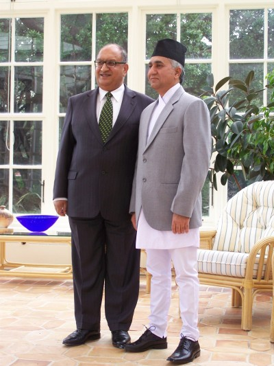 Nepal's Ambassador presents his credentials | The Governor-General