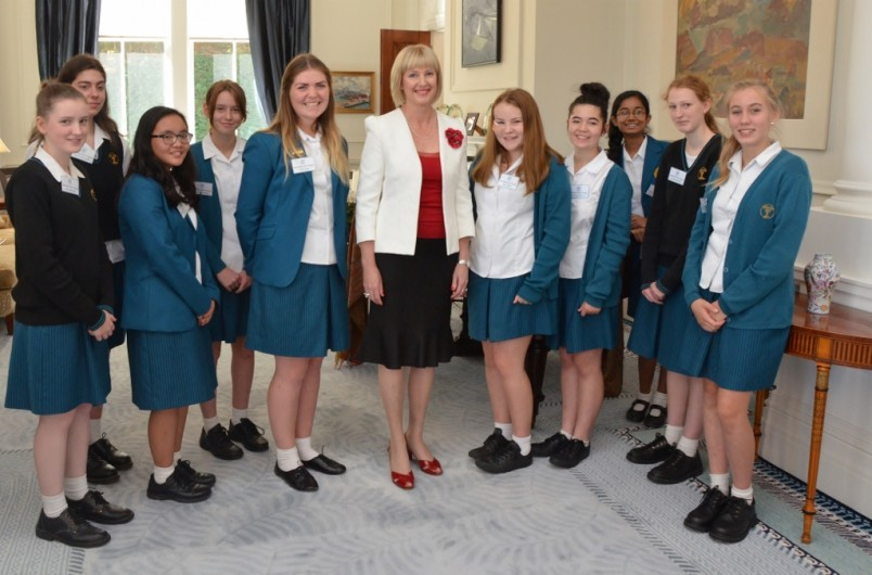 Wellington Girls College Real Teal Challenge  The Governor-General -1552