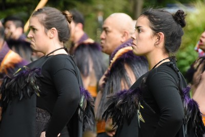 Image of members of the NZDF cultural party