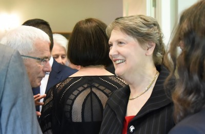 Image of former PM, Helen Clark at the luncheon