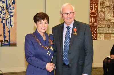Image of Mr Geoffrey Whitcher, of Auckland, ONZM, for services to business and education