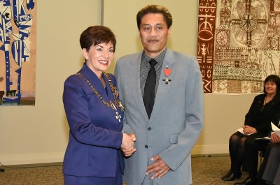 Image of Mr Darrin Haimona, of Waharoa, MNZM,for services to Māori and the arts