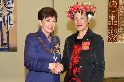 Image of Mrs Sally Ikinofo, of Auckland,MNZM, for services to education and Māori and Pacific communities