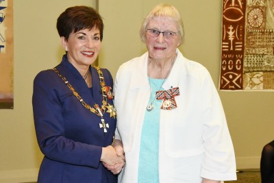 Image of Mrs Jackie Grinder, of Matamata, QSM, for services to the community