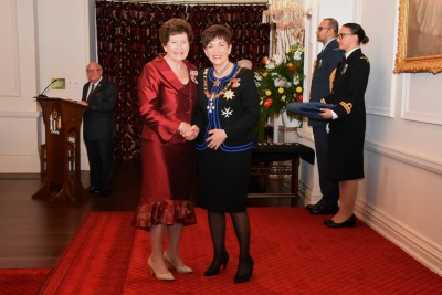An image of Mrs Beryl Bowers, QSM of Picton, for services to the community