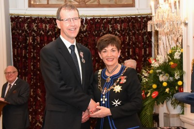 An image of Mr Brian Dodds, QSM of Balclutha, for services to healthcare and the community.
