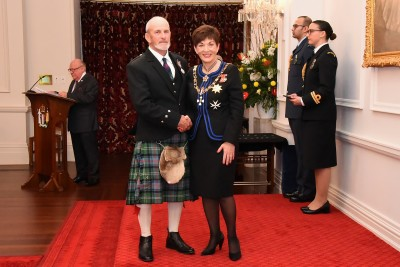 An image of Mr Roderick (Rod) Sutherland, QSM of Masterton, for services to athletics, cycling and the community.