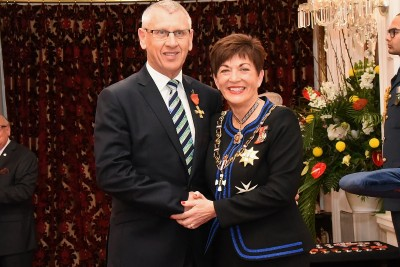 An image of Mr Brendan Duffy, ONZM of Levin, for services to local government