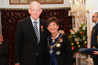 An image of Mr Alexander (Keith) Mair, ONZM of Taupo, for services to basketball