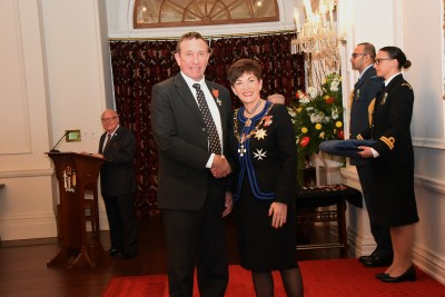 An image of Mr Douglas Avery, MNZM of Seddon, for services to agriculture and mental health