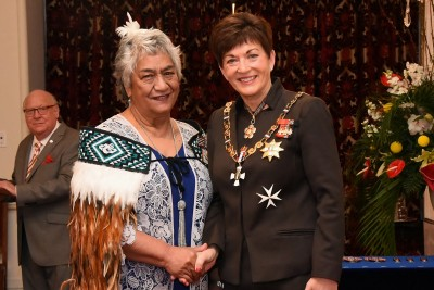 an image of Mrs Alice Doorbar, QSM of Waitara, for services to health and Māori