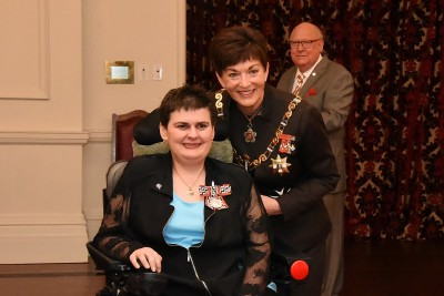 an image of Dr Claire Reilly, QSM of Ashburton, for services to people with Motor Neurone Disease