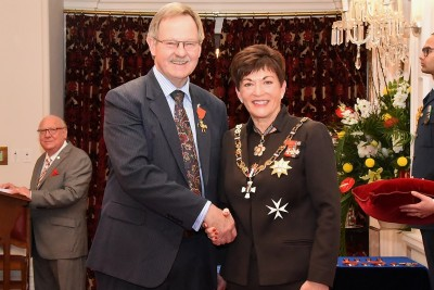 An image of Mr Desmond (Des) Ashton, ONZM of Blenheim, for services to the New Zealand Defence Force and aviation