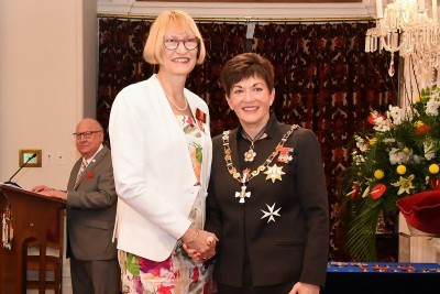 An image of Professor Anne (Vicky) Cameron, ONZM of Christchurch, for services to health