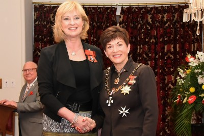 an image of Ms Deborah Bush, MNZM of Christchurch, for services to women's health