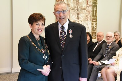 Image of Mr Julian Shields, of Nelson, QSM, for services to the community