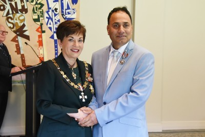 Image of  Mr Kulwinder Jhamat, of Pokeno, QSM, for services to the Indian community